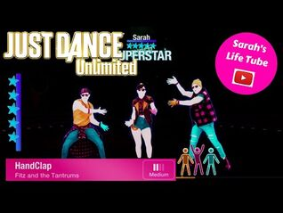 HandClap, Fitz and the Tantrums - SUPERSTAR - Gameplay - Just Dance 2017 Unlimited -PS5-