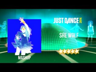 Just Dance 2014 - She Wolf (Falling To Pieces) - Mashup
