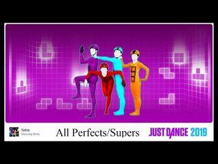 -All Perfects-Supers- Just Dance 2019 - Tetris - 5 Stars (Megastar)