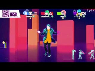 Just Dance Now- Can't feel My Face (5 stars)