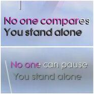 Loveyoulike lyrics comparison 2