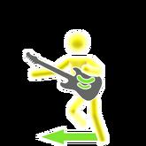 Badassprincesskids guitar picto