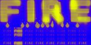 Fire banner bkg