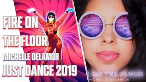 Michelle Delamor - Fire on the Floor (Audio) from Just Dance 2019