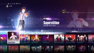 Superstition jd2016 menu