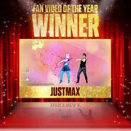Justdanceawards fanvideo winner