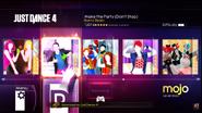 Maketheparty jd4 menu xbox360