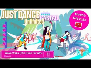 Waka Waka (This Time For Africa), Shakira - MEGASTAR, 3-3 GOLD, P2 - Just Dance 2018 Unlimited -PS5-