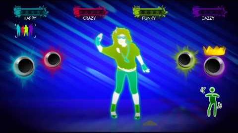 Acceptable in the 80s - Just Dance 3 Gameplay Teaser (EU)