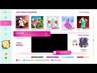 Just Dance 2020 (Unlimited) Love Boat 5*'s Gameplay