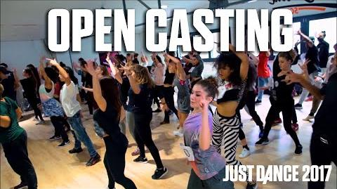Just Dance 2017 1 Episode Open Casting - Making of a Just Dancer
