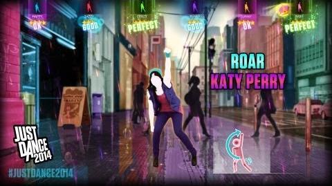 Katy Perry - Roar Just Dance 2014 Free DLC Gameplay