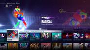 Radical jd2016 menu