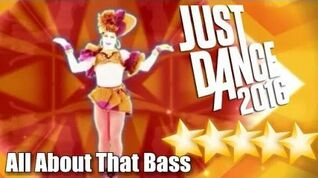 5☆ Stars - All About That Bass - Mashup - Just Dance 2016 - Wii U