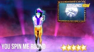 Just Dance Now You Spin Me Round (Like A Record)