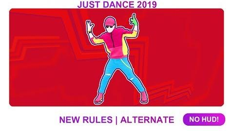 New Rules (Extreme Version) - Just Dance 2019 (No HUD)