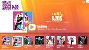 Rockabye jdnow menu glitch