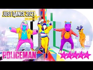 Just Dance 2021 (Unlimited)- Policeman - 5 stars