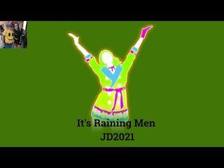 Just Dance 2021 It's Raining Men 5 stars + Megastar Nintendo Switch