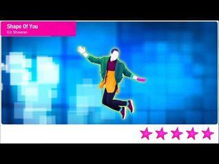 Just Dance 2021 Unlimited Shape of You 5 Stars + Megastar PS4 Gameplay Phone Mode