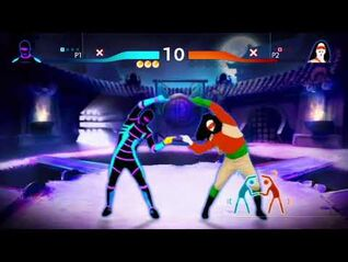 Just Dance BATTLE! Rock N' Roll VS Livin' La Vida Loca both routines