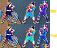 Girlslike color scheme comparison