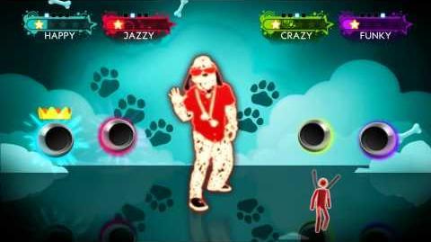 Who Let The Dogs Out? - Just Dance 3 Gameplay Teaser (UK)