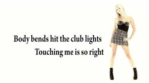 A K A Hot For Me Official Lyric Video from Just Dance 4