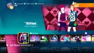 Girlfriend jd2018 menu