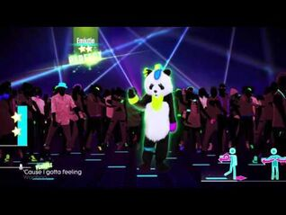 I Gotta Feeling Panda - The Black Eyed Peas - JustDance 2016 - 5* - 1080p HD