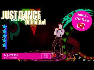 Superstition, Stevie Wonder - SUPERSTAR, 4-4 GOLD - Just Dance 4 Unlimited -PS5-