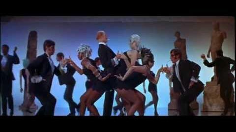 "BOB FOSSE choreography - "" The Rich Man's Frug """