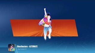Just Dance 2018 (Unlimited) Ghostbusters - Alternate (Versão suor)