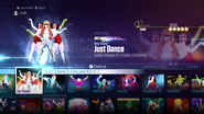 Justdanceosc jd2016 menu