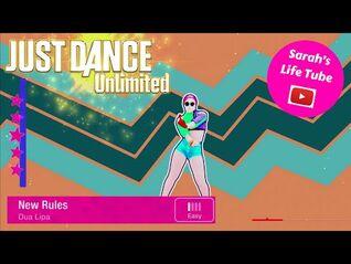 New Rules, Dua Lipa - MEGASTAR - Gameplay - Just Dance 2019 Unlimited -PS5-