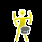 Badassprincesskids drum picto