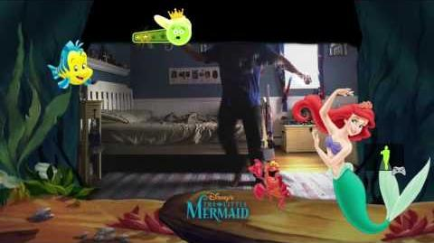 Just Dance Disney Party Just Create My Choreography Under the sea 4 stars xbox 360