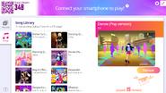 Danse jdnow menu computer 2020
