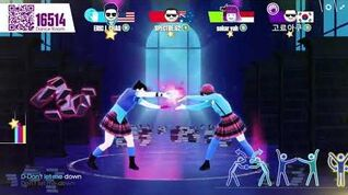 Just Dance Now Don't Let Me Down (5 stars)