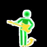Dametu guitar picto