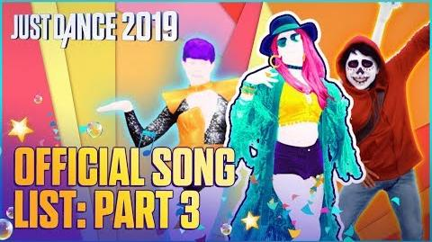 Official Song List (Part 3) - Just Dance 2019 (US)