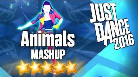 Just Dance 2016 - Animals (MASHUP) - 5 stars