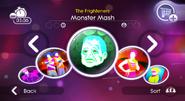 Monstermash jd2 menu