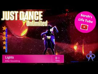 Lights, Ellie Goulding - 5 STARS - Gameplay - Just Dance 2016 Unlimited -PS4-