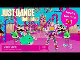 Oishii Oishii, Wanko Ni Mero Mero - SUPERSTAR, 3-3 GOLD, P2 - Just Dance 2017 Unlimited -PS5-