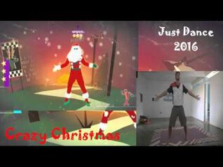 Just Dance 2016 Crazy Christmas
