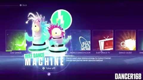 Just Dance Machine at E3 Master Class