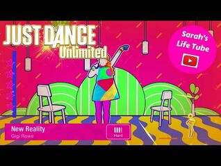 New Reality, Gigi Rowe - MEGASTAR - Gameplay - Just Dance 2019 Unlimited -PS5-