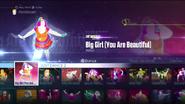 Biggirl jd2016 menu