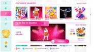 Biggirl jd2020 menu